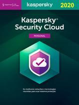 Kaspersky  Security Cloud Personal 5 dispositivos 1 ano Versão 2020 -
