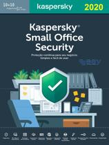 Kaspersky Small Office Security 10+10+1 Servidor 1 ano validade -