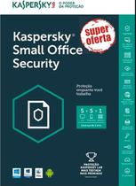 Kaspersky Small Office Security 5+5+1 Servidor 1 ano Versão 2019