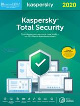 Kaspersky  Total Security 10 Dispositivos 1 ano Versão 2020 -