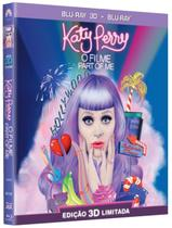 Katy Perry - o Filme - Part Of Me - Blu-Ray 3D + Blu-Ray - Paramount