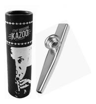 Kazoo Turbo Metálico Prata -
