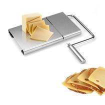 Ke Home Fatiador de Queijo Inox Manual Cortador com Fio para Frios Manteiga Multifuncional  6663 -