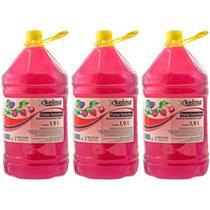 Kelma Frutas Vermelhas Sabonete Líquido 1900ml (Kit C/03) -
