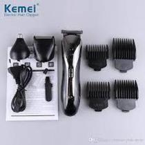 Kemei Máquina De Barbear Aparar, Aparador Elétrico, Kit De Pelos, Pelos Nasais 3 Em 1 - Km-1407 - Rts