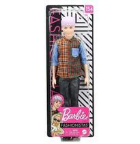 Ken Fashionistas 154 Com Camisa Xadrez - Mattel - GHW70 -