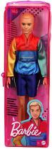 Ken Fashionistas - 163 Cabelo Loiro Casaco Colorido - Mattel