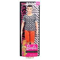 Ken Fashionistas - Bermuda Laranja - Mattel