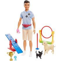 Ken Treinador de Cães - Ken Profissões - Barbie - Mattel -
