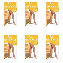 Kendall 1892 Meia Calça Alta Compressão S/ Ponteira Mel M (Kit C/06) -