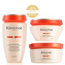 Kérastase Nutritive Magistral Kit - Shampoo + Leave-In + Máscara -