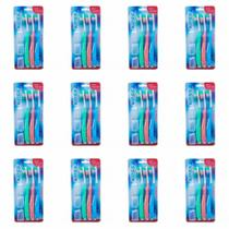 Kess Escova Dental + Capa Protetora C/3 (Kit C/12) -
