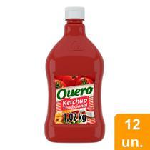 Ketchup Quero 1,028kg Embalagem com 12 Unidades -