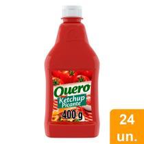 Ketchup Quero Picante 400g Embalagem com 24 Unidades -