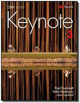 Keynote - AME - 3 - Student Book with Keynote Online Sticker - Cengage -