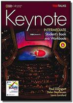 Keynote - BRE - Intermediate - Combo Split A + DVD-ROM + WB Audio CD - Cengage -