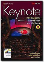Keynote - BRE - Intermediate - Combo Split B + DVD-ROM + WB Audio CD - Cengage -