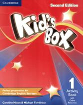 Kids box 1 ab with online resources - british - 2nd ed - Cambridge university