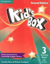 Kids box 3 activity book with online resources - british - 2nd ed - Cambridge university