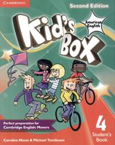 Kids box american english 4 sb - 2nd ed - Cambridge university