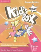 Kids box american english starter class book - 2nd - Cambridge University