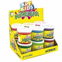 Kimeleka Slime 180g Art Kids Acrilex 12 Unidades -