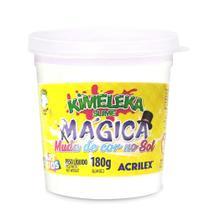 Kimeleka Slime Mágica Muda de Cor no Sol Mágico 180g - Acrilex