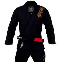Kimono Black Ace Player Gold - Preto -