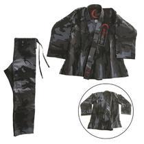 Kimono de Jiu-Jitsu Adulto Camuflado Rythmoon -