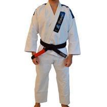 Kimono de Jiu-jitsu Adulto  Trançado Plus Torah Branco -