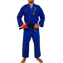Kimono de Jiu-jitsu Torah Trançado Plus Adulto Azul -
