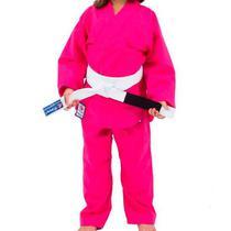 Kimono de Judô Infantil Combate Torah Rosa -