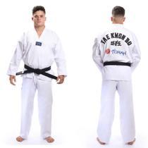 Kimono dobok Adulto Taekwondo Gola Branca - Torah -