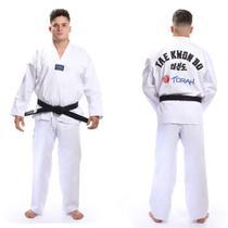 Kimono dobok Taekwondo Torah Gola Branca - A5 -