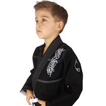 Kimono INFANTIL Trançado Black Ace Player - Preto -