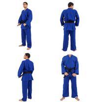 Kimono Iniciante - Judo/Jiu Jitsu - Torah - Azul - A5 -