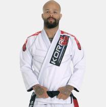 Kimono Jiu Jitsu Koral New MKM Competition 2018 Branco -