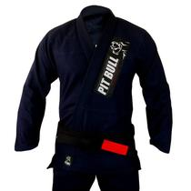 Kimono Jiu-Jitsu Pit Bull Classic - Azul Marinho - Pitbull