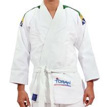 Kimono Jiu Jitsu Torah Trançado Ktlji Branco -