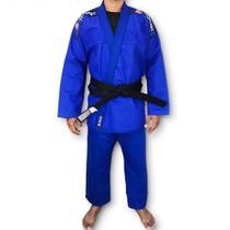Kimono Trançado Flex Jiu Jitsu Adulto Azul Torah -