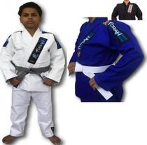 Kimono Trançado Plus Torah Jiu Jitsu - Infantil -
