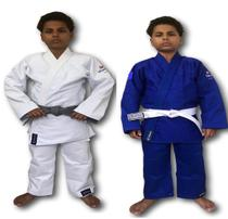 Kimono Trançado Plus Torah Judô - Infantil -