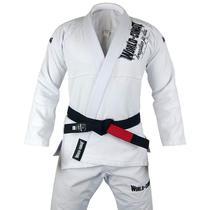 Kimono World Combat BJJ - Branco -