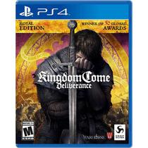 Kingdom Come Deliverance Royal Edition - Ps4 - Sony