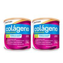 Kit 02 Colágeno Hidrolisado 250g Hair Skin Amora Maxinutri -
