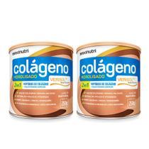 Kit 02 Colageno Hidrolisado Verisol Natural 250g Loja Maxinutri -