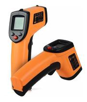 Kit 02 Termômetro Digital Laser Culinário Industrial Gm400 - Exbom