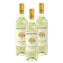 Kit 03 Unidades Vinho Ruffino Lumina Pinot Grigio 750ml -