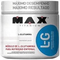 Kit 04 100% L-Glutamina Max Titanium -