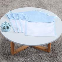 Kit 04 Saquinhos Maternidade Organizador Poá Azul - Zany Baby